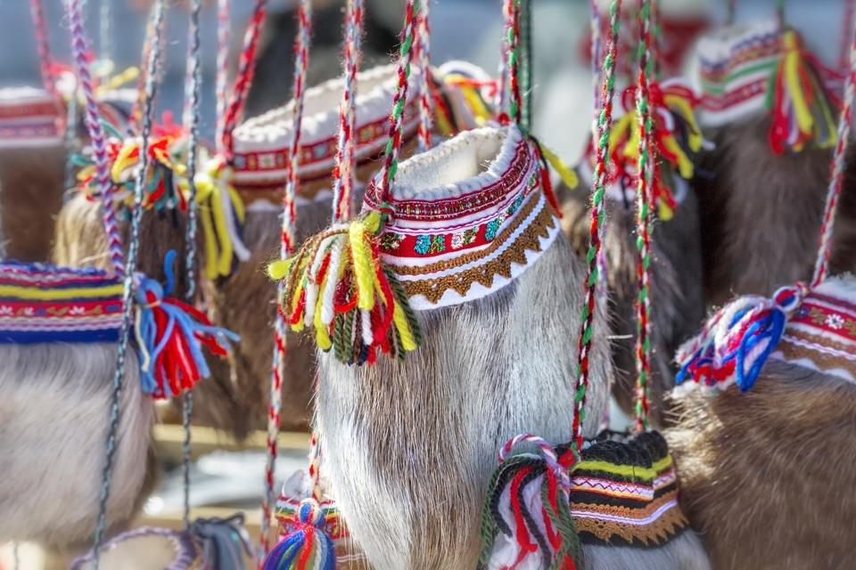 Samen-souvenirs in Finland