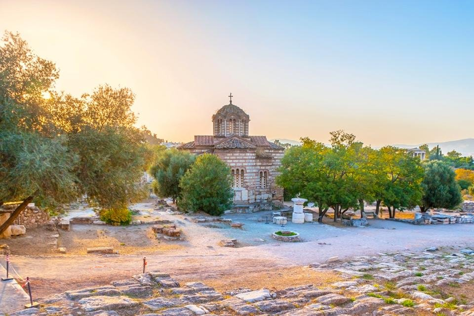 Agora in Athene, Griekenland