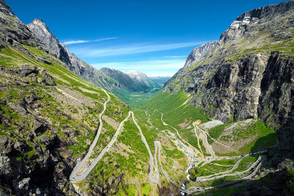 Trollstigen in Noorwegen