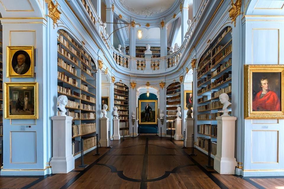 Hertogin Anna Amalia-bibliotheek, Weimar, Duitsland