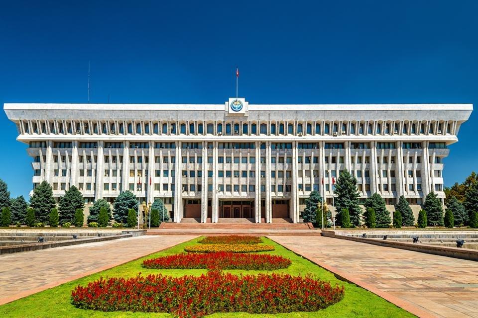 Bishkek in Kirgizië