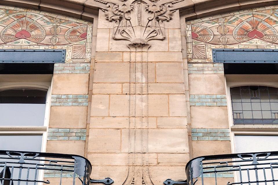 Art nouveau in Den Haag Nederland