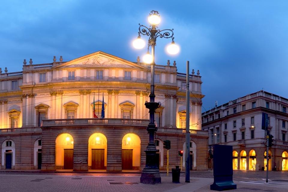Teatro a la Scala in Milaan, Italië