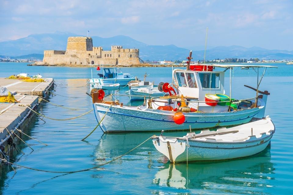 Haven van Nauplion, Griekenland