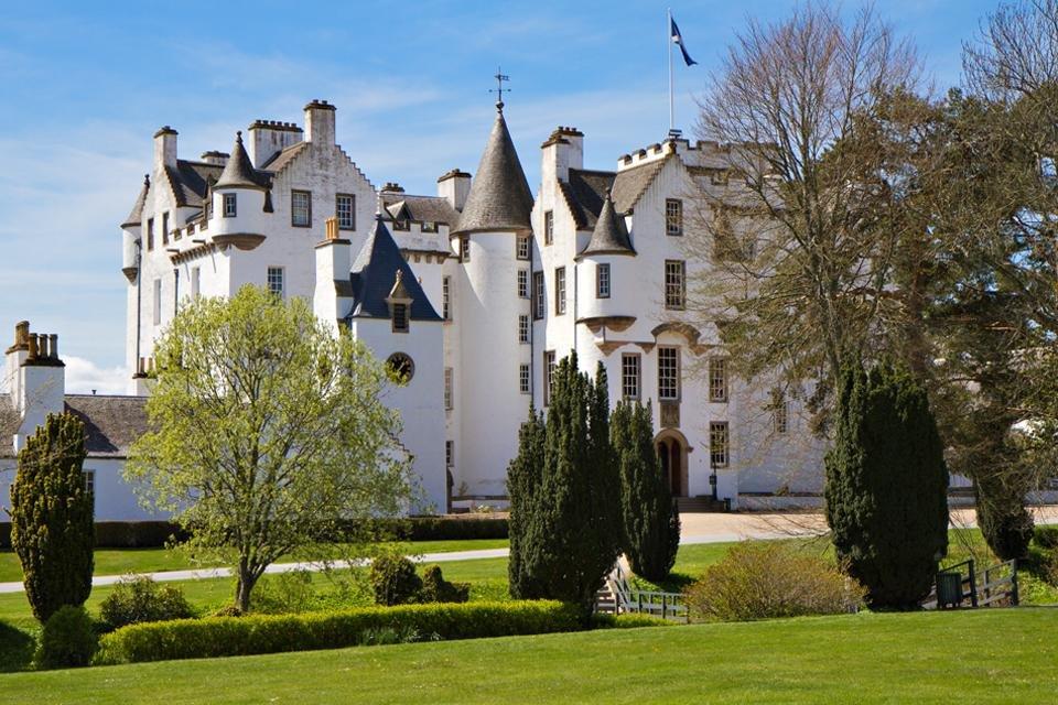 Blair Castle, Schotland, Groot-Brittannië