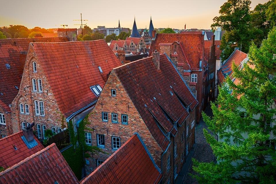 Altstadt van Lübeck, Duitsland