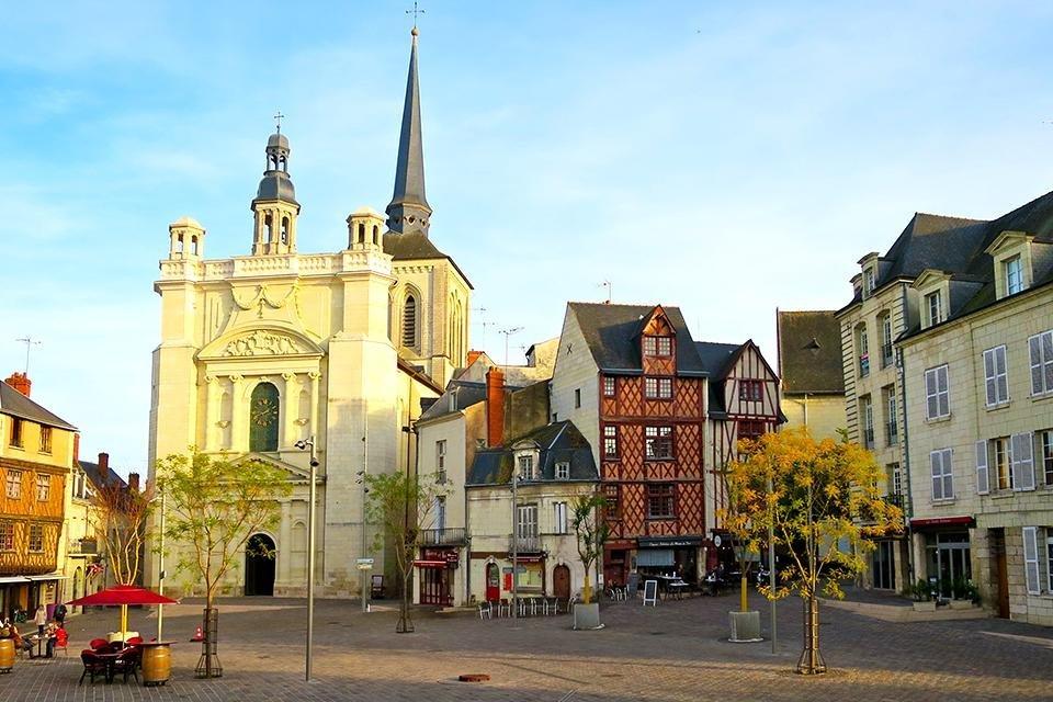 Place Saint-Pierre, Saumur, Loire, Frankrijk