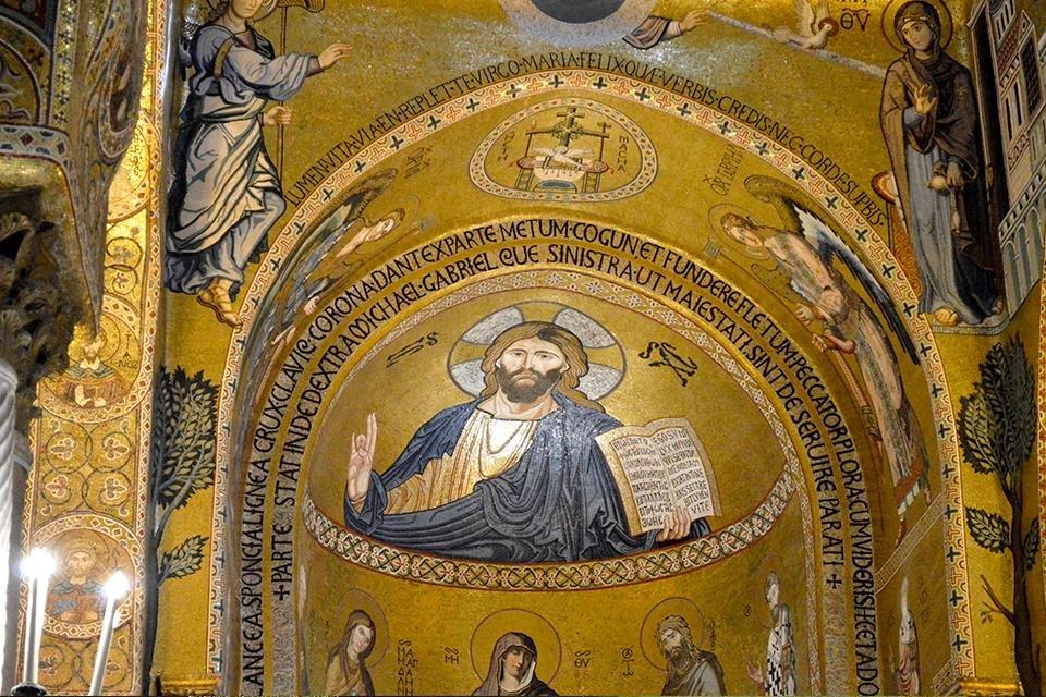 Cappella Palatina, Palermo, Sicilië, Italië
