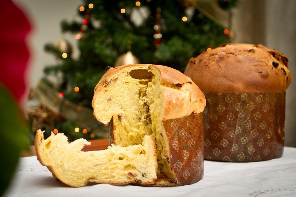 Panettone, kerstspecialiteit in Italië
