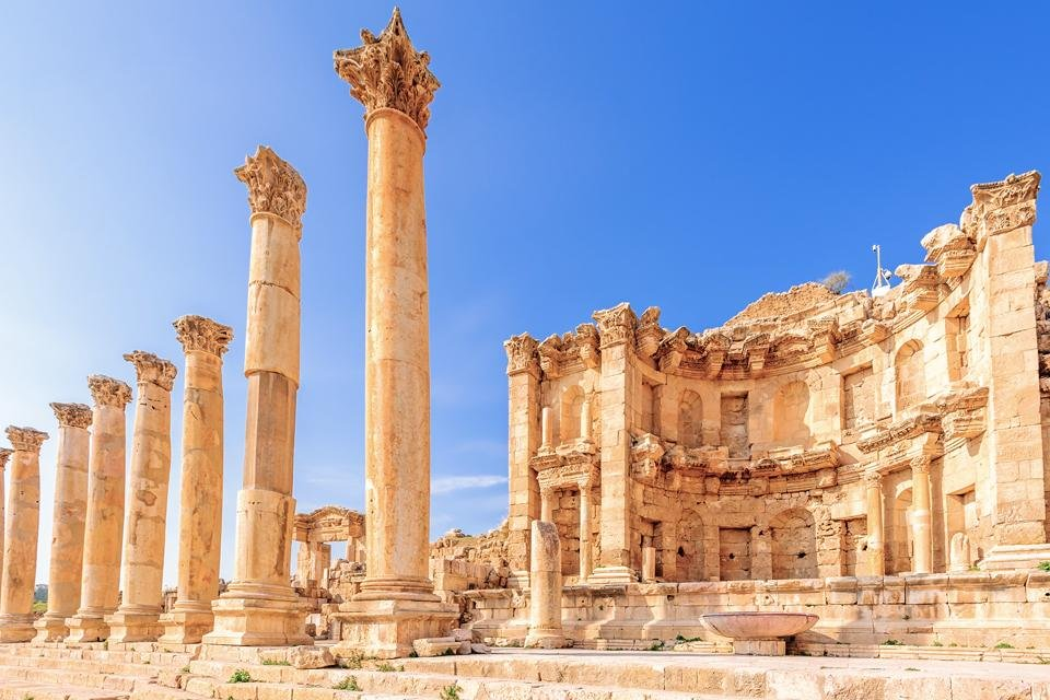 Jerash in Jordanië
