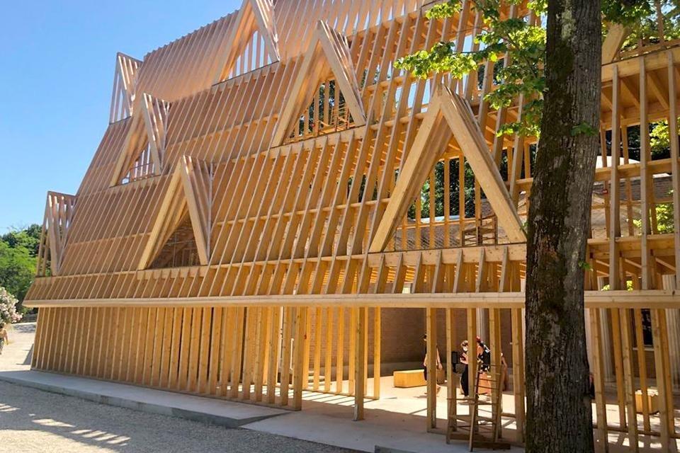 American framing (Verenigde Staten), architectuurbiënnale Venetië 2021, Italië