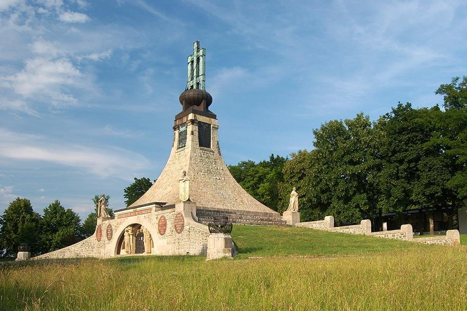 Monument op het slagveld van Austerlitz, Tsjechië