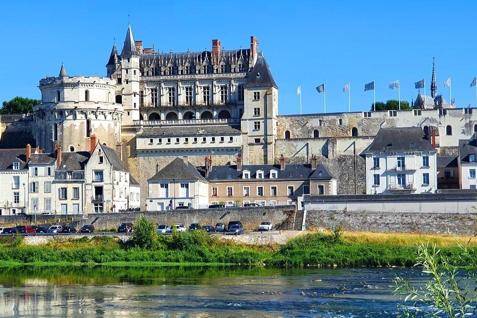 Château d'Amboise, Loire, Frankrijk