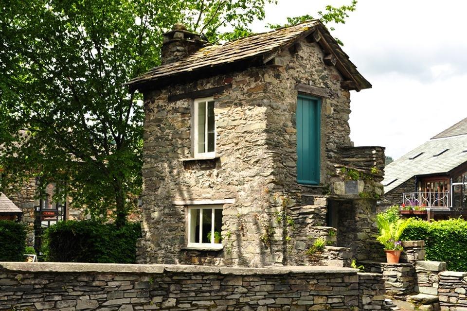 Bridge House, Ambleside, Lake District, Cumbria, Groot-Brittannië