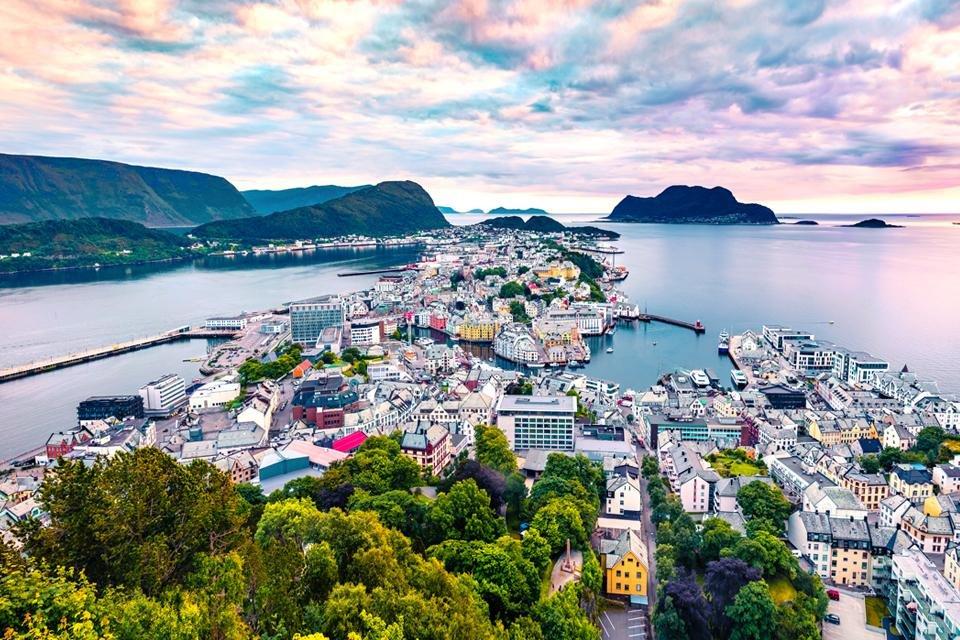 Älesund in Noorwegen