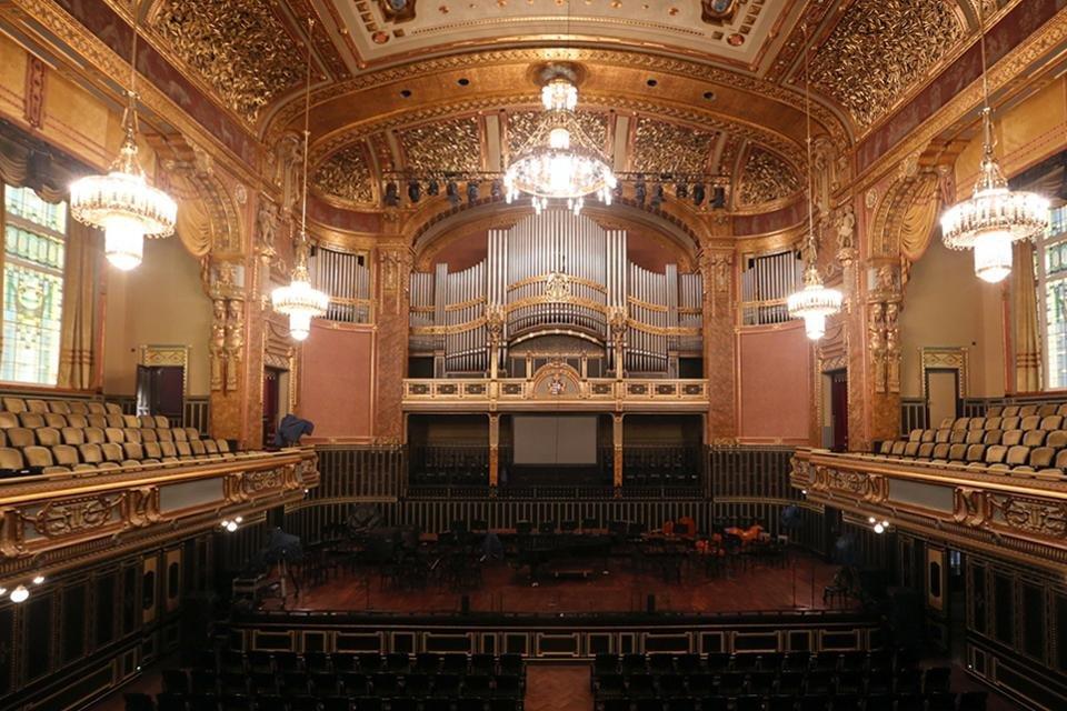 Frans Liszt Academy in Boedapest, Hongarije