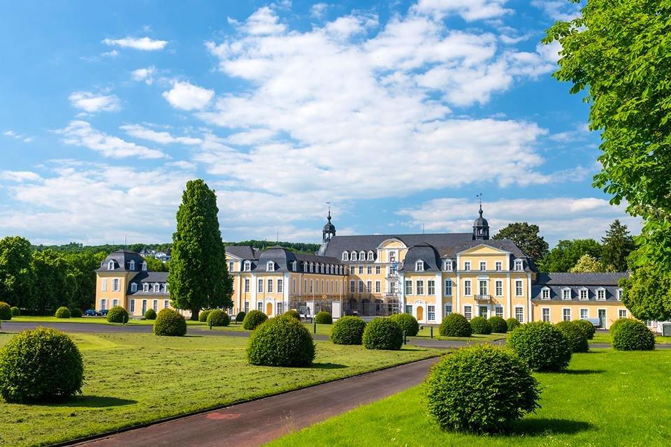 Schloss Oranienstein bij Diez, Duitsland