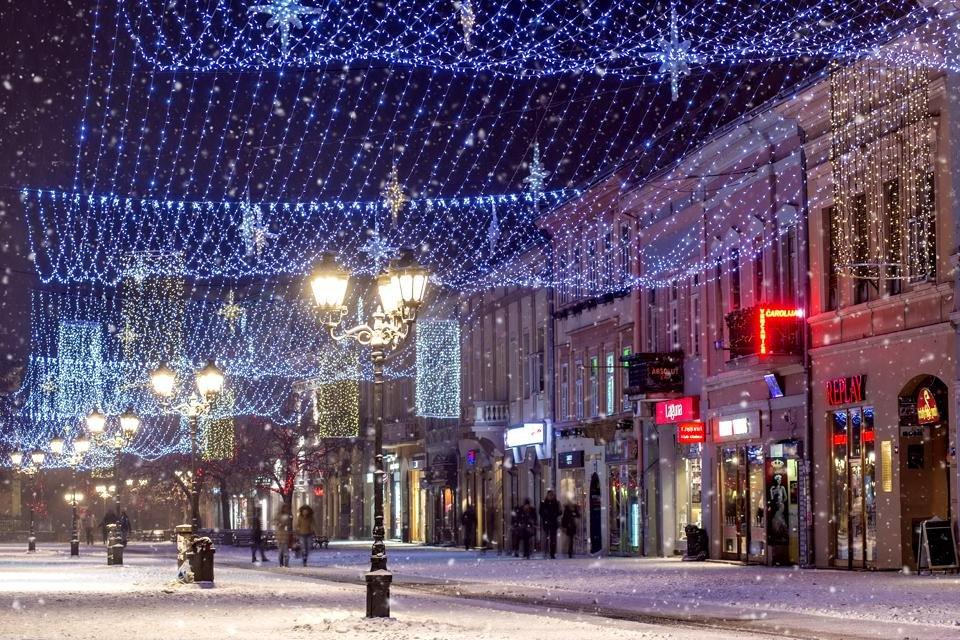 Novi Sad, Servië, tijdens kerst. Foto van Toerisme-organisatie Novi Sad
