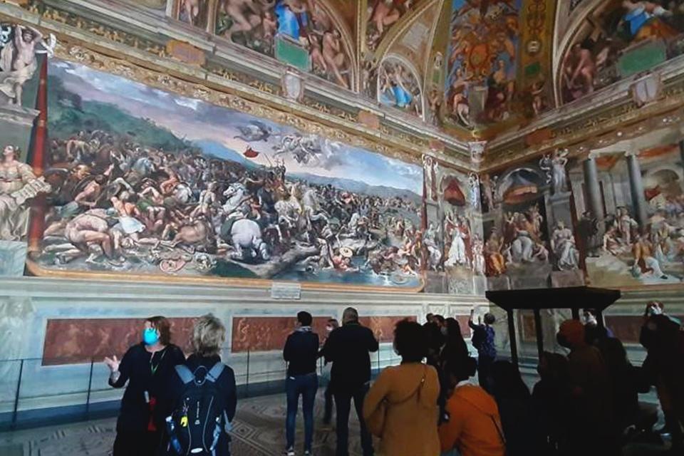 Reisleidster Diane in de Vaticaanse musea, Rome, Italië