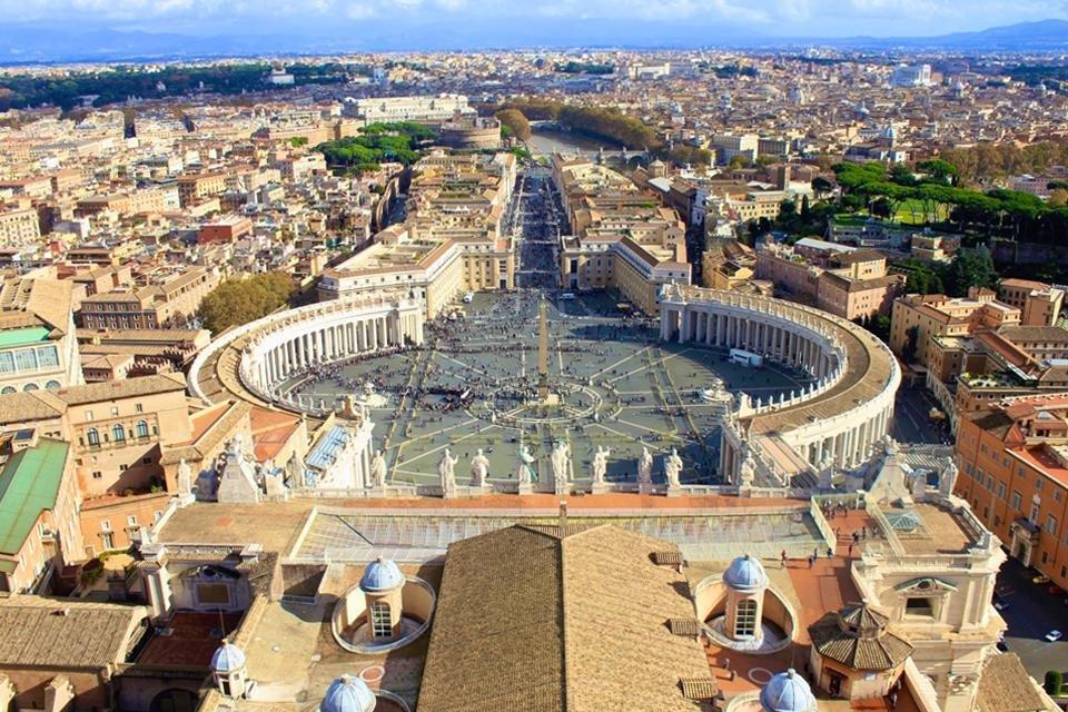 Sint Pieter in Vaticaanstad in Rome, Italië