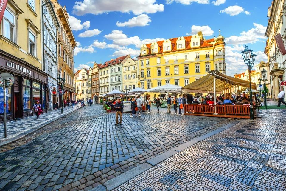 Het historische centrum van Praag, Tsjechië