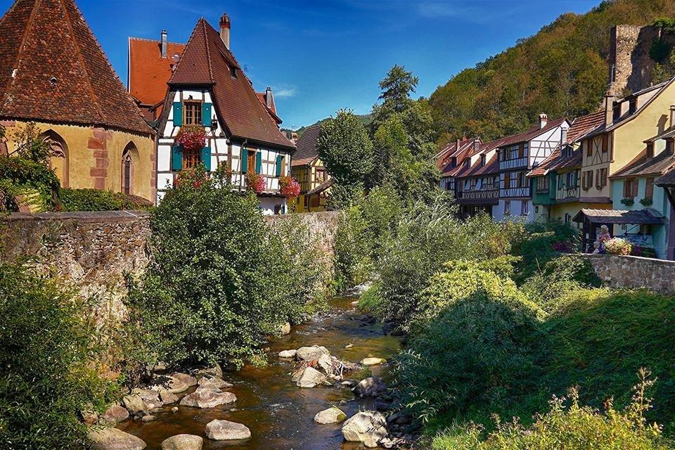 Kayersberg, Elzas, Frankrijk